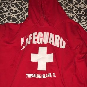 Jackets & Blazers - red lifeguard jacket